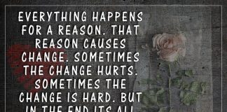 Sometimes The Change Hurts -likelovequotes