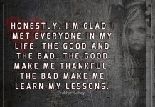 The Good Make Me Thankful -likelovequotes