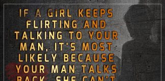 If A Girl Keeps Flirting And Talking -likelovequotes