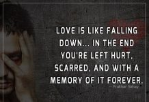 Love Is Like Falling Down -likelovequotes